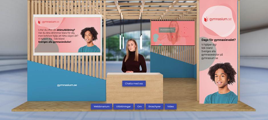 Ny tjänst på gymnasiums.se: virtuellt öppet hus