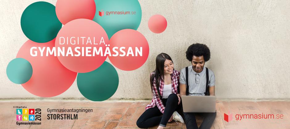 Gymnasiemässan ♥ gymnasium.se = Digitala gymnasiemässan